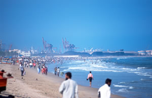 Picture from the beaches of Chennai
