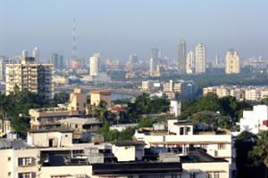 Picture of the Mumbai city skyline